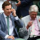Benedict Cumberbatch- July 12, 2015-Day Thirteen: The Championships - Wimbledon 2015 - 454 x 306
