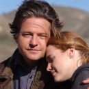 Stephen Bridgewater as Mr. Taylorsen and Erin Cottrell star as Missie LaHaye in Michael Landon Jr. direct movie Love's Abiding Joy - 2006