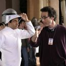 KAL PENN with Director MORT NATHAN on the set of NATIONAL LAMPOON'S VAN WILDER: THE RISE OF TAJ is distributed by Metro-Goldwyn-Mayer Distribution Co., A Division of Metro-Goldwyn-Mayer Studios Inc. Photo Credit: Alexandru Ioan - 454 x 303