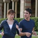 Joy (Amy Smart) and Dan Millman (Scott Mechlowicz) in PEACEFUL WARRIOR - 454 x 251