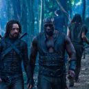 Michael Sheen (left) and Kevin Grevioux star in Screen Gems' action thriller UNDERWORLD: RISE OF THE LYCANS. © 2008 Lakeshore Entertainment Group LLC. All Right Reserved. - 454 x 302