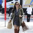 Jenna Dewan picks up lunch at Urth Cafe in Los Angeles, California on November 14th, 2012