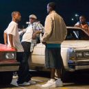 """Left to right: Jason Weaver as Teddy, TIP """"T.I."""" Harris as Rashad, and Jackie Long as 'Esquire' appear in Warner Bros. Pictures' music-driven coming of age story, ATL. Photo by Guy D'Alema - 454 x 314"""