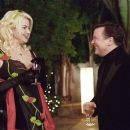 Jennifer Coolidge as Whitney Taylor Brown and Ricky Gervais as Martin Gibb in director Christopher Guest's For Your Consideration.  Photo credit: Suzanne Tenner © 2006 Shangri-La Entertainment, LLC.
