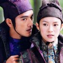 Takeshi Kaneshiro (left) and Zhang Ziyi (right) in Sony Pictures Classics' action adventure movie House of Flying Daggers - 2004
