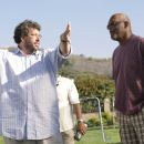 (l-r) Director Neil LaBute, Samuel L. Jackson as Abel Turner. Photo: Chuck Zlotnick. © 2008 Screen Gems, Inc. All rights reserved.