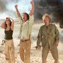 "(Left to right) Penelope Cruz as Eva Rojas, Matthew McConaughey as Dirk Pitt and Steven Zahn as Al Giordino in ""Sahara."" Photo by: Keith Hamshere"