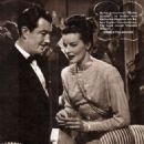 Katharine Hepburn - Filmjournalen Magazine Pictorial [Sweden] (February 1947) - 454 x 619