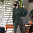 Kendall Jenner – In a leggings with a friends in West Hollywood