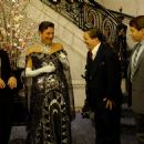 (L to R) Roger Bart as common-law assistant Carmen Ghia, Gary Beach as flamboyantly untalented director Roger De Bris, Nathan Lane as Max Bialystock and Matthew Broderick as Leo Bloom.