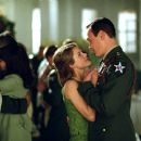 Keri Russell and Chris Klein in Paramount's We Were Soldiers - 2002