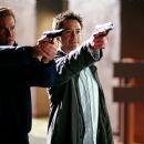 "VAL KILMER and ROBERT DOWNEY JR. star in Warner Bros. Pictures' action comedy thriller ""Kiss Kiss, Bang Bang."" Photo by John Bramley"