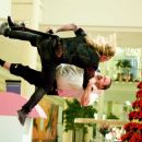 Mike Vallely as 'Rudolph' and Kevin James as 'Paul Blart' in Columbia Pictures' comedy PAUL BLART: MALL COP. Photo credit: Richard Cartwright. © 2009 Columbia Pictures Industries, Inc. and Beverly Blvd LLC All Rights Reserved. - 454 x 303