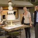 Jane (Katherine Heigl, center), and engaged couple George (Edward Burns) and Tess (Malin Akerman), marvel at the creation of master baker Antoine (Ronald Guttman). Photo credit: Barry Wetcher.