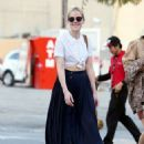 Jena Malone Out and About In La