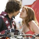 Rod Kimble (Andy Samberg) and Denise (Isla Fisher) in Paramount Pictures' Hot Rod. Credits by James Dittiger. (C) 2006 Paramount Pictures. All rights reserved.