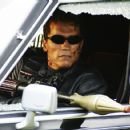 Arnold Schwarzenegger stars in the futuristic action thriller 'Terminator 3: Rise of the Machines,' distributed by Warner Bros. Pictures.
