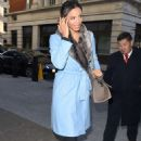 Rochelle Humes Arriving At Bbc Radio 1 In London