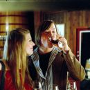 Wine tasting, Amber Benson and Cole Williams - 454 x 365