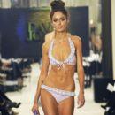 Nicole Trunfio models for the David Jones S/S 2011 season launch fashion show in Sydney