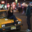 Tris (Alexis Dziena) and Nick (Michael Cera) star in Columbia Pictures and Mandate Pictures' comedy Nick & Norah's Infinite Playlist. Photo credit: K.C. Bailey. © 2008 Playlist LLC. All Rights Reserved.