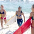 Kate Bosworth, Michelle Rodriguez and Sanoe Lake in Universal's Blue Crush - 2002