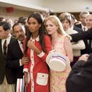 Joy Bryant play as Patricia and Heather Graham play as Angela in Bobby