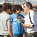 BTS: Zac Efron, Corbin Bleu and Kenny Ortega. Photo: John Bramley. ©Disney Enterprises, Inc. All rights reserved.