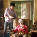 "ADAM BRODY as Carter Webb and OLYMPIA DUKAKIS as Grandma Archer in director Jonathan Kasdan's ""In the Land of Women,"" a Warner Bros. Pictures release. Photo by Liane Hentscher - 454 x 303"