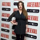 Lucy Pinder Age Of Kill Premiere In London