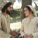 "Oscar Isaac (left) stars as ""Joseph"" and Keisha Castle-Hughes (right) stars as ""Mary"" in New Line Cinema's release of Catherine Hardwicke's drama, The Nativity Story. Photo Credit: ©2006 Jaimie Trueblood/New Line Produc"