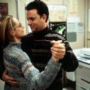 Kelly (Helen Hunt) and Chuck (Tom Hanks) value their relationship despite their long periods spent apart in 20th Century Fox's Cast Away - 2000