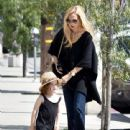 Rachel Zoe was spotted running errands with her son Kaius Berman in Los Angeles, California on March 24, 2017 - 441 x 600