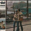 Laurent Vergez and Brigitte Bardot - Vecko Journalen Magazine Pictorial [Sweden] (4 October 1972) - 454 x 476