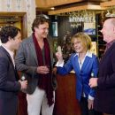 "(Left to right) Peter Klaven (Paul Rudd) introduces his new buddy Sydney Fife (Jason Segel) to his parents Joyce (Jane Curtin) and Oswald (J.K. Simmons) in the comedy ""I Love You, Man."" Photo Credit: Scott Garfield. Copyright © 2009 DW Studios"