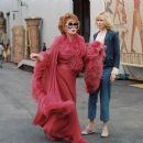 Shirley MacLaine and Nicole Kidman star in Columbia Pictures' romantic comedy Bewitched.  Photo by: John Bramley