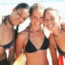 Michelle Rodriguez, Kate Bosworth and Sanoe Lake in Universal's Blue Crush - 2002