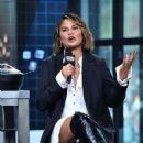 Chrissy Teigen – Visit AOL Build Series in NYC