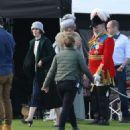 Michelle Dockery – Filming the 'Downton Abbey' in Bath - 454 x 481