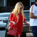 Avril Lavigne in Red out in LA - 454 x 624