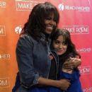 Camila with Michelle Obama - 454 x 454