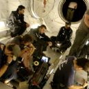 Danny Boyle sits down with the cast as they prepare to film in the airlock.