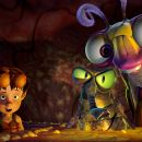 "(Left to right) Lucas Nickle (voiced by ZACH TYLER EISEN), Fly (voiced by MARK DeCARLO) and Beetle (voiced by ROB PAULSEN) in Warner Bros. Pictures' and Legendary Pictures' animated family adventure ""THE ANT BULLY,"" distributed by"