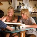 Brie Larson star as Beatrice and Cody Linley as Mullet Fingers in New Line Cinemas' Hoot 2006