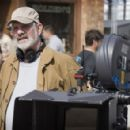 Director Brian De Palma behind the scene of Universal Pictures' The Black Dahlia - 2006