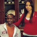 Keith Robinson and Lauren London as Melanie in Screen Gems' This Christmas.