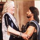 Peter O'Toole and Eric Bana in Wolfgang Petersen's Troy - 2004