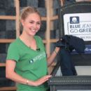 Annasophia Robb Cotton Incorporated Blue Jeans Go Freen Program In New Orleans