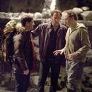 Left to right: JUSTIN BARTHA, NICOLAS CAGE, JON TURTELTAUB in National Treasure: Book of Secrets' © Disney Enterprises, Inc. and Jerry Bruckheimer, Inc. All rights reserved. Photo credit: Robert Zuckerman. - 454 x 521