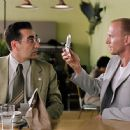 """(left to right) Eugene Levy as """"Andy Fiddler"""" and Luke Goss as """"Joey"""" in New Line Cinema's upcoming odd couple action comedy, THE MAN. V"""